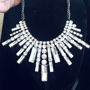 Spectacular Rhinestone Statement Necklace
